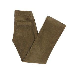 J Crew Women's Corduroy Bootcut Pants Size 0 Short